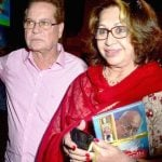 Helen with her husband Salim Khan