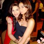Ira Dubey with her sister