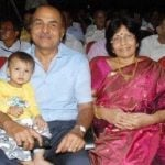 Jithan Ramesh parents and his brother Jiiva's son Sparsha