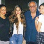 Arjun Kapoor's Step Mother, Father and Half Sisters