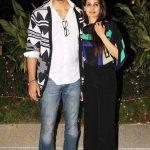 Kunal Kapoor with his wife Naina Bachchan