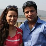 Kunal with his sister