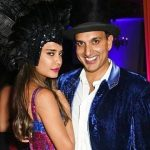 Lisa Haydon with Dino Lalvani