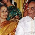 M. Balamuralikrishna with his wife