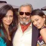 Roshni Chopra with father Ravi and sister Deeya