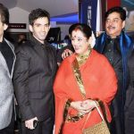Sonakshi Sinha with her family