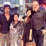 Sonarika Bhadoria with her family