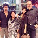 Sonarika Bhadoria with her family
