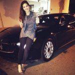 Sunny Leone Maserati Quattroporte