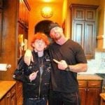 The Undertaker with his son Gunner Vincent