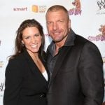 Triple H with wife Stephanie McMahon