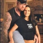 Undertaker with second wife Sara Calaway