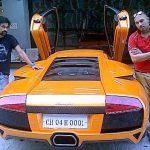 Yuvraj Singh Lamborghini Murcielago