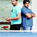 Yuvraj Singh with his brother