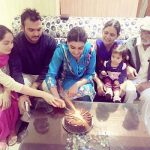 Anmol with Family