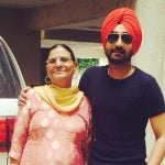 Ranjit Bawa with Mother