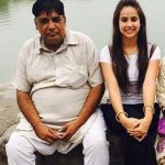 Sunanda with Father