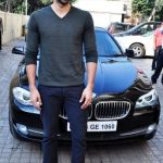 Aditya Roy Kapur BMW 5 Series