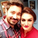 Akriti with her Husband Chirag Aora