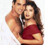 Akshay Kumar With His Ex-Girlfriend Raveena Tandon