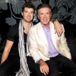 Alan Thicke with son Robin Thicke