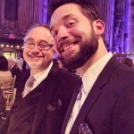 Alexis Ohanian with his father