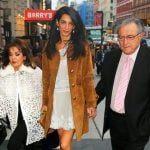 Amal Coolney with her Parents