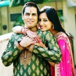 Aman Verma with his wife