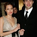 Angelina Jolie with her brother