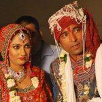 Chandan Prabhakar with his wife Nandini Khanna