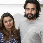 Deepshikha Deshmukh with her brother Jackky Bhagnani
