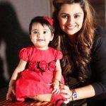Deepshikha Deshmukh with her daughter