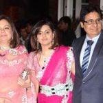 Deepshikha Deshmukh with her parents