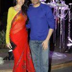 Dipanita with her Husband