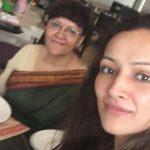 Dipanita with her Mother