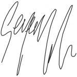 George Michael signature