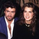 George Michael with Brooke Shields