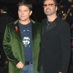 George Michael with Kenneth Goss