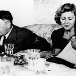 Hitler with Eva Braun