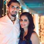 Ishant Sharma with his wife Pratima Singh