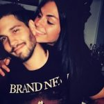Jahan Yousaf with her boyfriend