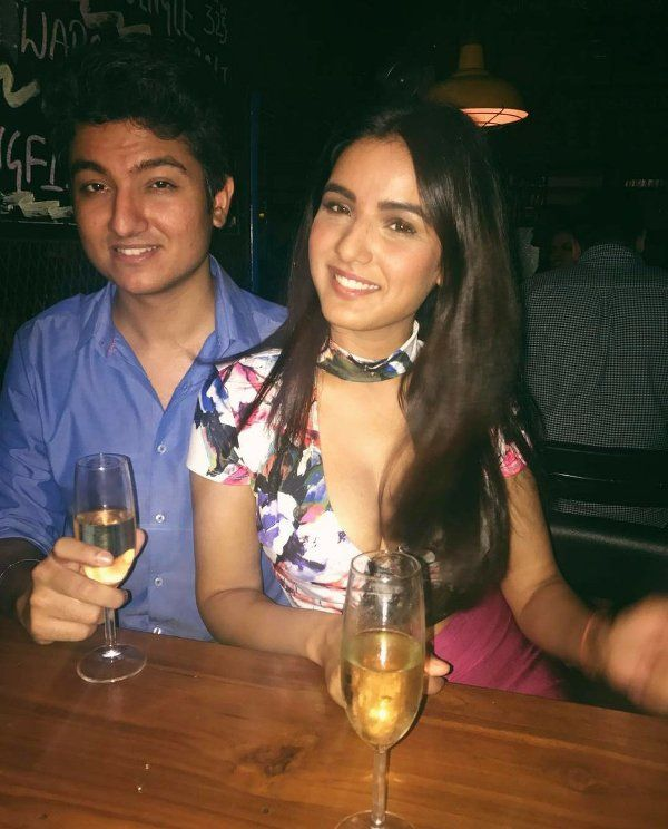Jasmin Bhasin and Suraj Wadhwa