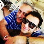 Jatin Sapru with his father