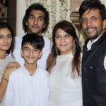 Alaviaa Jaffery with her family