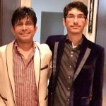KRK with his son Faisal Kamaal Khan