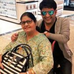 Kapil Sharma with his mother