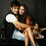Krystle Dsouza With Karan Tacker