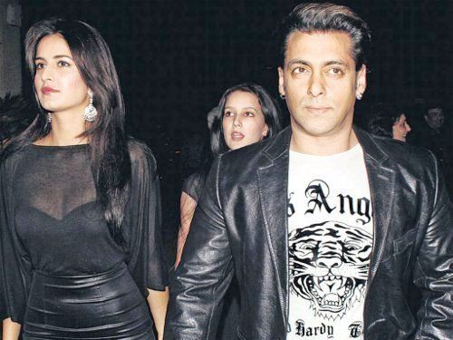 Katrina Kaif and Salman Khan
