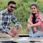 Kaur B with Bunty Bains