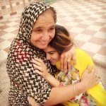 Kaur B with Mother